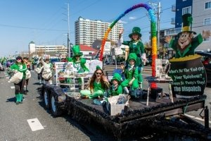 St. Patrick's day parade in OCMD